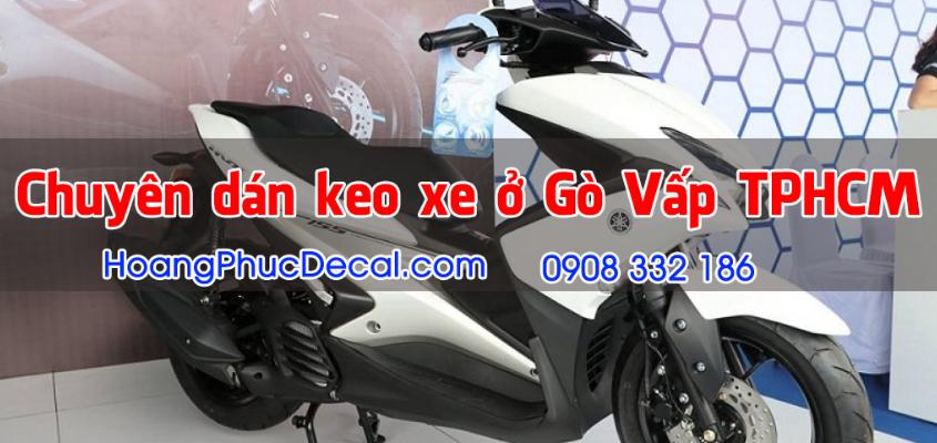 Cửa hàng dán keo xe máy ở TPHCM