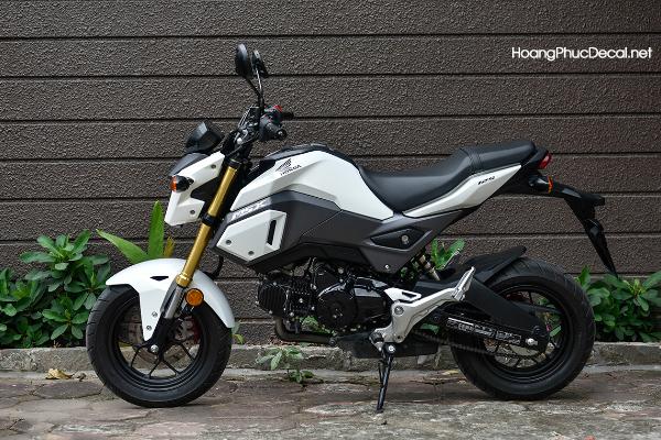 Danh gia xe may Honda msx125