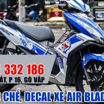 Dán decal xe, dán tem chế cho Air Blade ở TPHCM