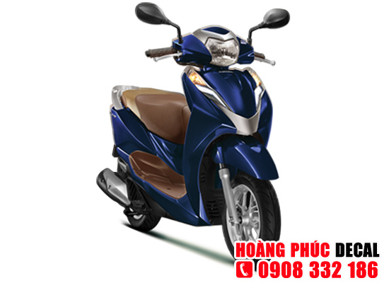 Dịch vụ dán keo xe, dán decal xe máy LEAD 2018