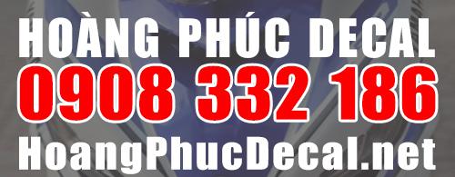 hoangphudecal-hotline Dán tem chế xe máy exciter 135 đẹp, nhiều mẫu TPHCM - Hoàng Phúc